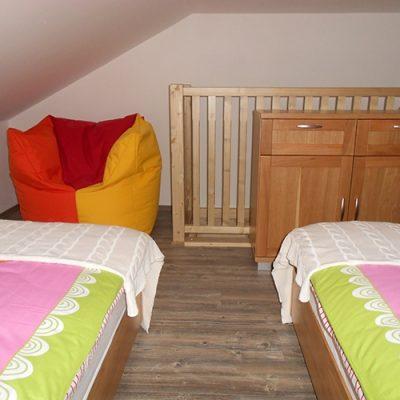 apartman 6 spalna na poschodi 2