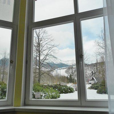apartman 6 vyhlad z okna